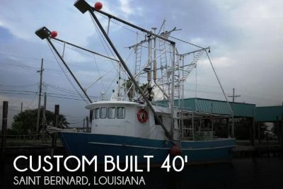 2011 Custom Built Aluminum 40 x 16 Shrimp Boat