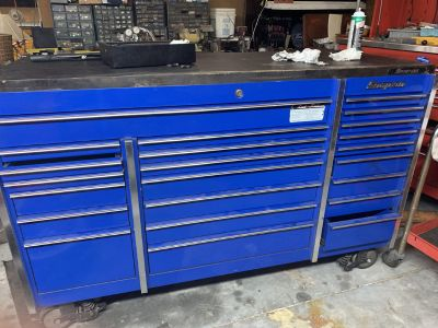 Snap on Snapon Snap-on KRL1003 Cabinet and wood top. Royal B
