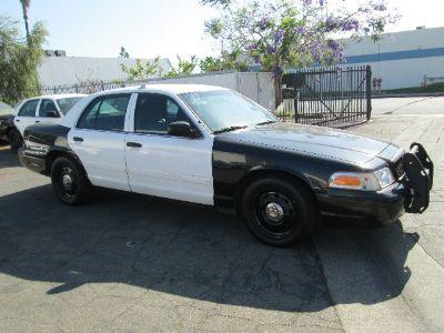 2011 Ford Crown Victoria Police Interceptor (Black/White)
