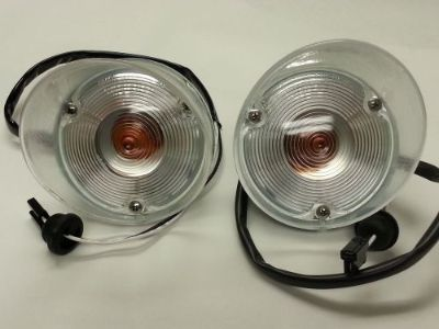Sell 1971 1972 Olds Hurst Cutlass 442 Parking light Lenses Lens and Housing Kit motorcycle in Overland Park, Kansas, United States, for US $189.00