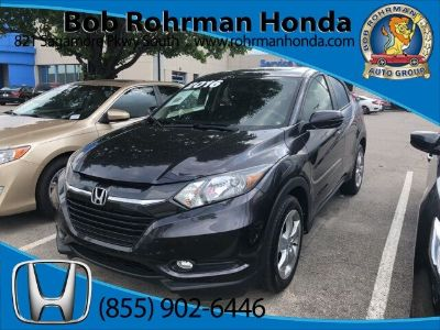 2016 Honda HR-V EX (Mulberry Metallic)