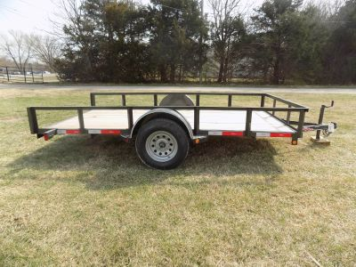 2017 Other 77X12 Utility Tilt Trailer Utility Chanute, KS