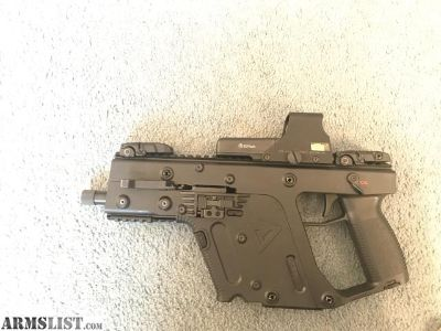 For Sale: Kriss vector gen 2 9mm only $1000!