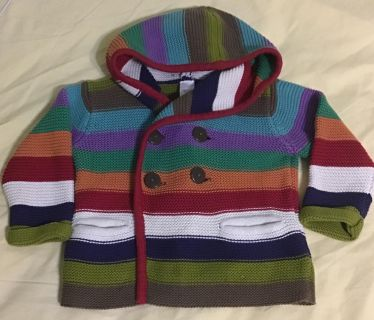 Next Hooded Button Cardigan