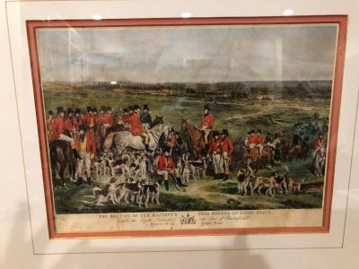 Meeting of the Stag Hounds Print