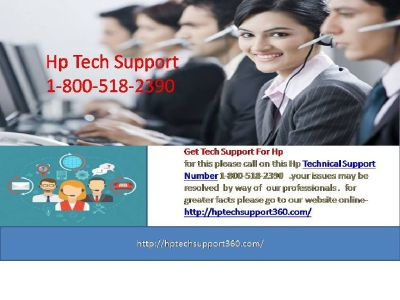Get Awesome Services of Hp Tech Support 1-800-518-2390