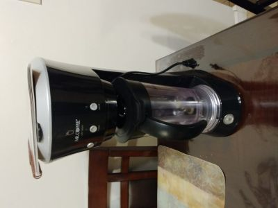 Mr Coffee frappe maker