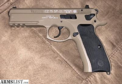 For Sale: CZ 75 SP-01 Tactical 9mm