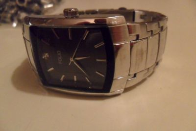 Men's Folio stainless steel watch