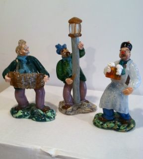 Vintage Colorful Glass Figurines