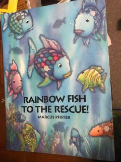 Rainbow Fish To The Rescue Oversized Shared Reading Book