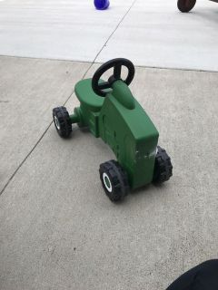 Small riding tractor