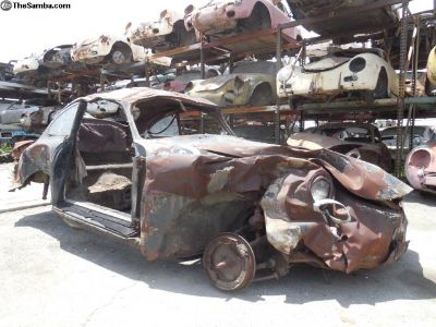 1959 Porsche 356 A Coupe 356 A T2 Project Car for
