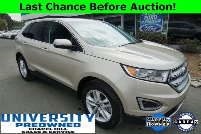 2018 Ford Edge (White Gold Metallic)