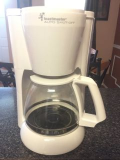 Toastmaster auto shut off coffee maker 12 cup