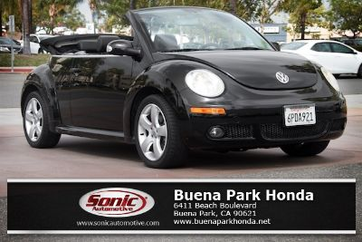 2007 Volkswagen New Beetle 2.5 PZEV (Black/Black Roof)
