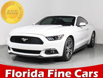 2015 Ford Mustang Ecoboost Premium (White)