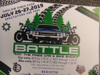 AT THE PINES CAR & BIKE SHOW