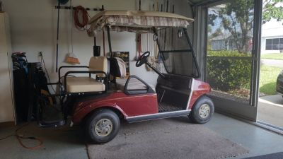 4 seater Club Car Golf Cart