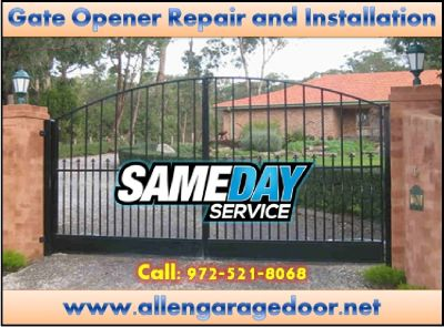 Emergency Gate and Gate Opener Repair Service Starting $26.95