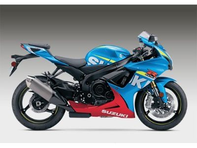 2016 Suzuki GSX-R750 SuperSport Motorcycles Phillipston, MA