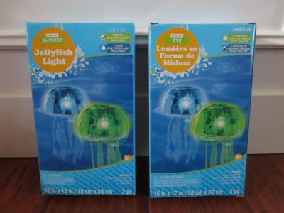 Inflatable Jellyfish LED Swimming Pool Float Light