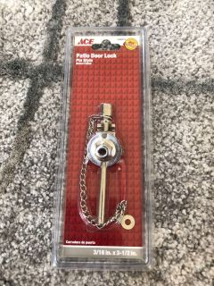 BRAND NEW: Patio Door Lock