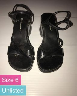 Unlisted Dress Shoes, Size 6 (see full description)