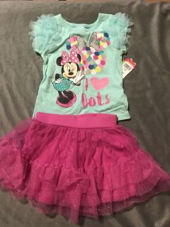 New with tags 3t Minnie
