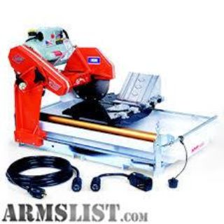 For Trade: tile saw for????