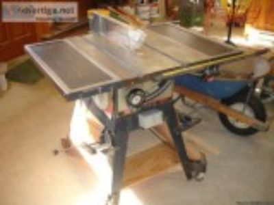 FOR SALE Craftsman quot Cast-iron Table Saw