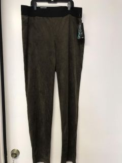 Size 14 faux suede skinny pants