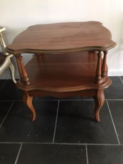 Vintage French provincial side table