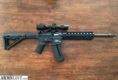 For Sale: Smith and Wesson mp15-22