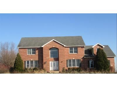 4 Bed 3.5 Bath Foreclosure Property in Hebron, IN 46341 - Arthur Henry Gibbs St