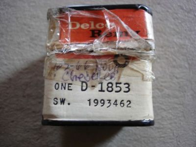 Sell 62 63 64 65 66 NOS CHEVROLET CHEVELLE NOVA COOLANT TEMPERATURE SWITCH 1993462 GM motorcycle in Louisville, Ohio, United States, for US $59.99
