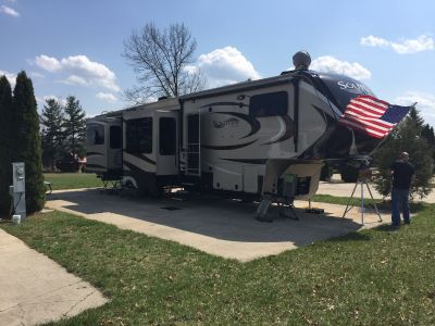 2016 Grand Design SOLITUDE 375RE-R