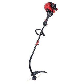 craftman 25cc, 2-Cycle 17-Inch Attachment Capable Curved Shaft Gas WEEDWACKER Trimmer