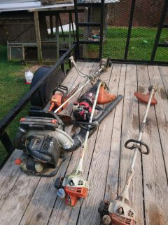 Weedeater stihl echo blower chainsaw for parts