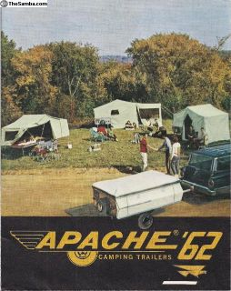 1962 Apache Camping Trailers Brochure