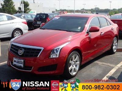 2014 Cadillac ATS 2.5L (Red Obsession Tintcoat)