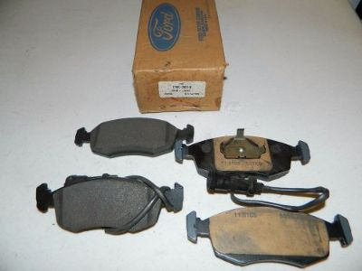Purchase NOS set of Merkur XR4TI and Scorpio FT brake pads with wear sensors E7RY-2001-B motorcycle in Howe, Texas, United States, for US $49.00