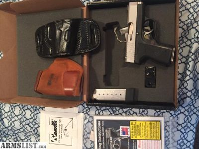 For Sale/Trade: Kahr cm40 with trijicon night sights and more