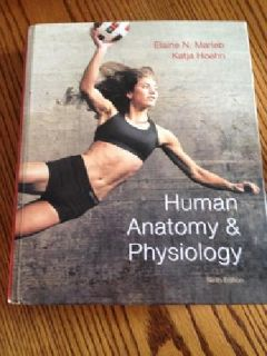 $185 OBO College Human Anatomy and Physiology Book