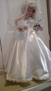 "Wedding Reception Table Decor Display Doll ""Wedding Bride"""