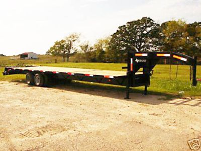 $8,795, 2015 SAVE BIG 8.5 x 35 gooseneck flatbed equipment trailer 24 gvwr