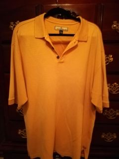 Tommy Bahama xl polo shirt. Silk/cotton. Excellent condition. $8