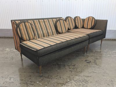 Mid Century Modern Sectional Sofa from Karpen Furn