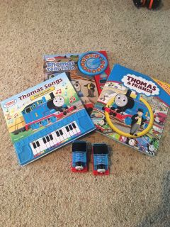 Thomas the Train Books and 2 Thomas the Trains