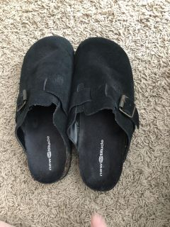 NWOT Slip On Shoes W/ Decorative Buckle